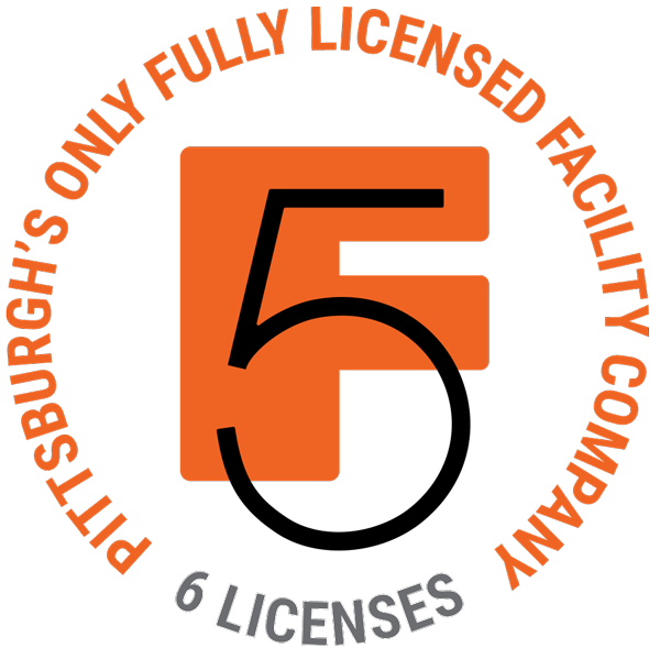 f5 facility services logo